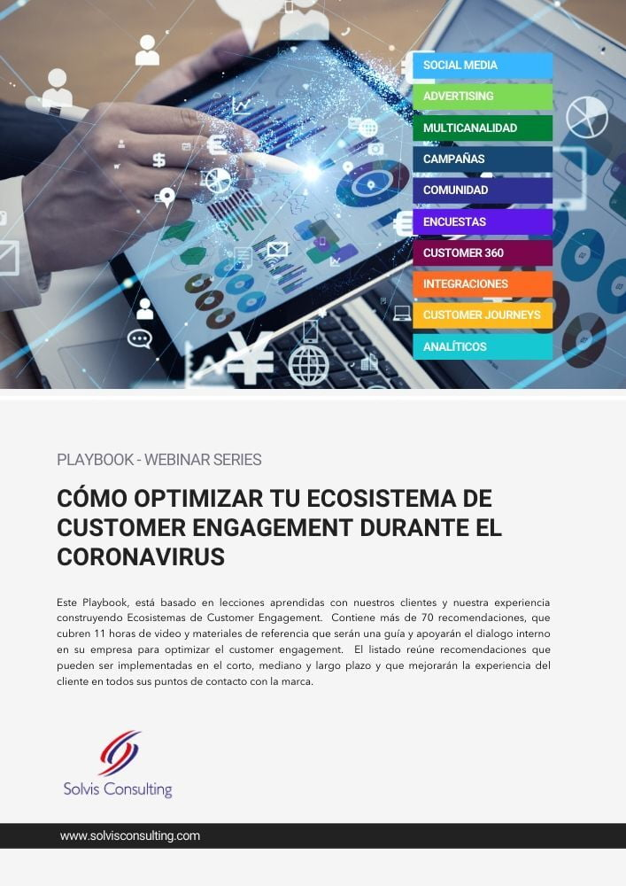 Playbook Covid 19 Solvis Customer Engagement